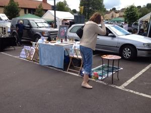 Frome Summer Art Boot Sale