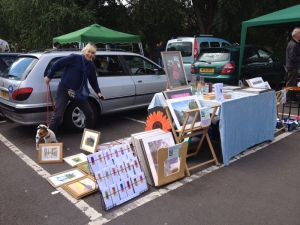 Frome Summer Art Boot Sale