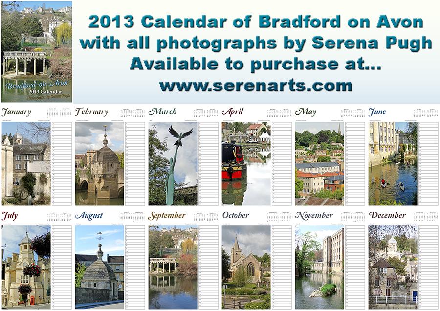 Bradford on Avon 2013 Calendar