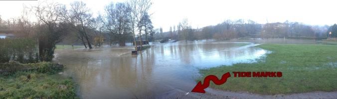 River Avon Flood Level