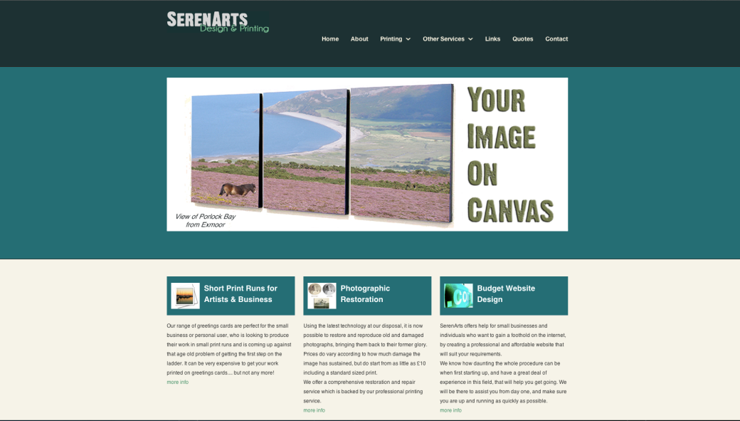www.serenarts.co.uk