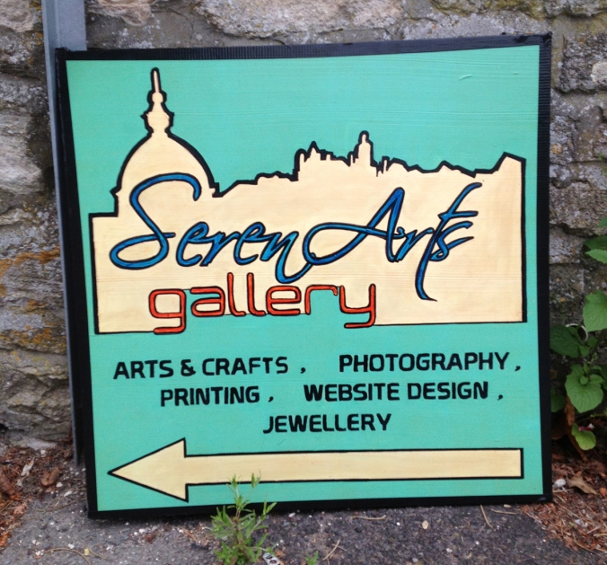 new serenarts gallery signs for pound lane