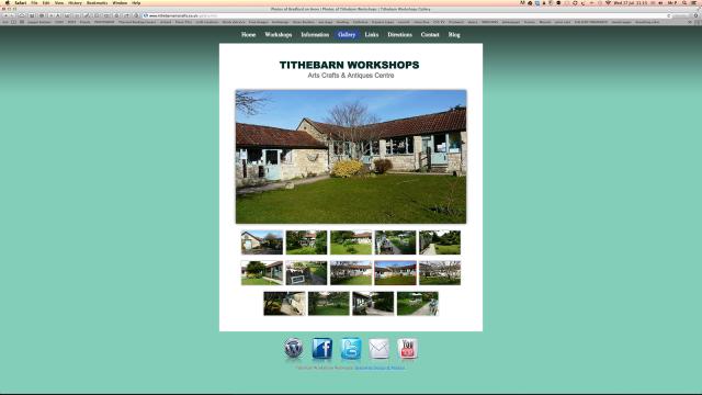 responsive website design by serenarts gallery
