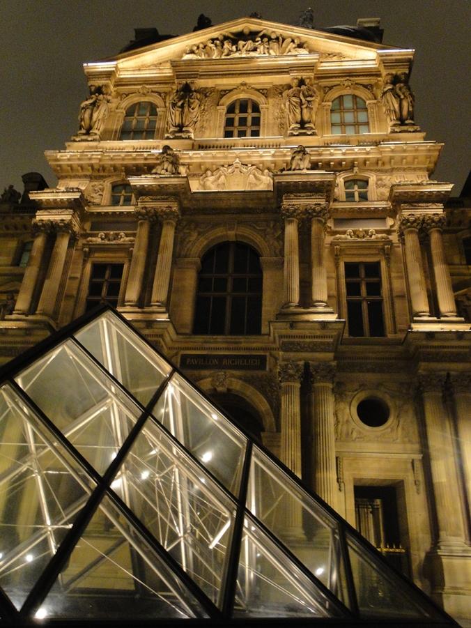 Image on canvas of Paris by Serena Pugh