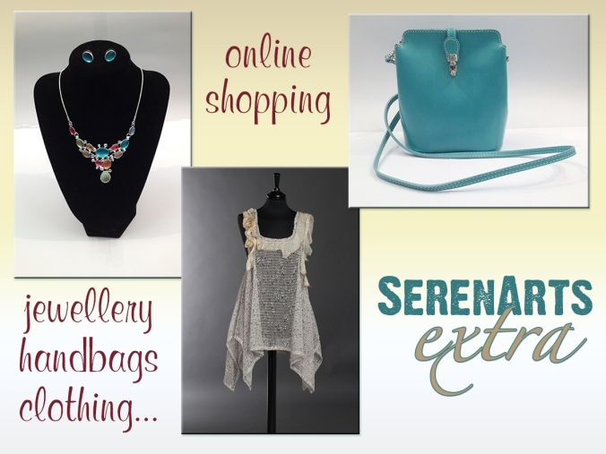 SerenArts Extra... online shopping for jewellery, handbags and clothing from SerenArts Gallery