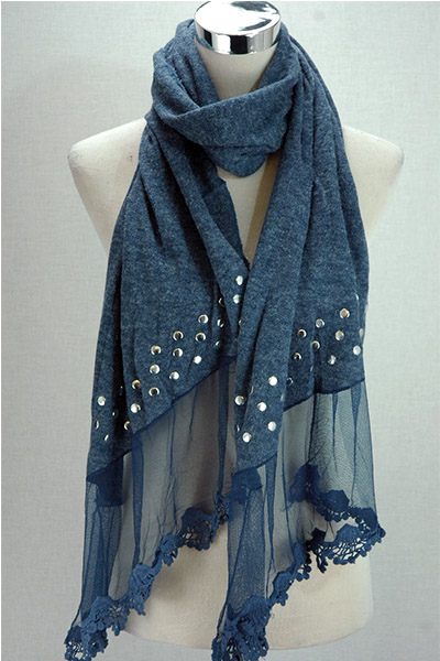 New stocks of winter scarves and diamante fingerless mittens at SerenArts Gallery