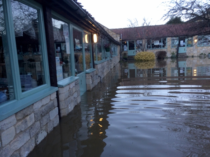 Christmas Floods at SerenArts Gallery, Tithebarn Workshops, Bradford on Avon