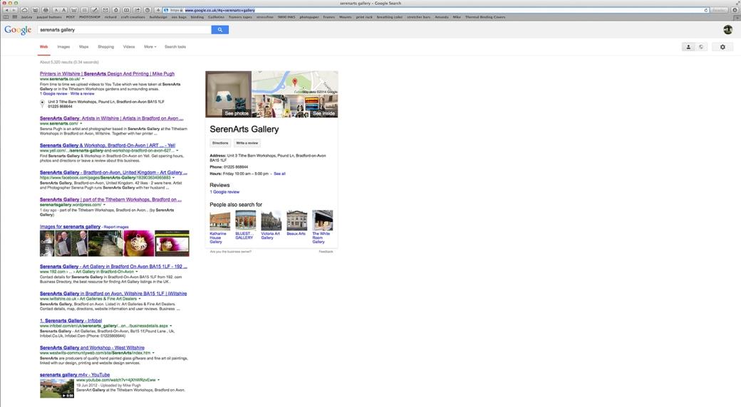 serenarts gallery google business photos