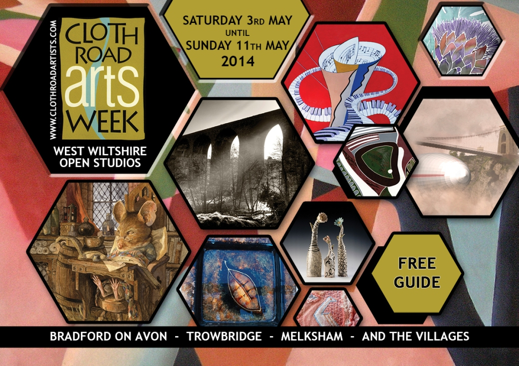 cloth road arts week brochure cover