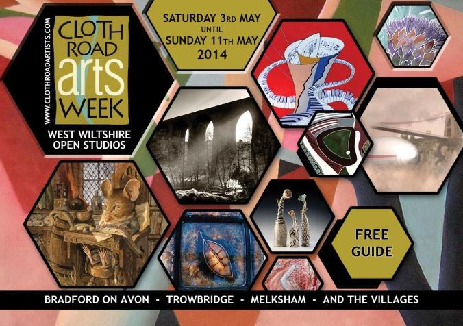 cloth road arts week brochure cover
