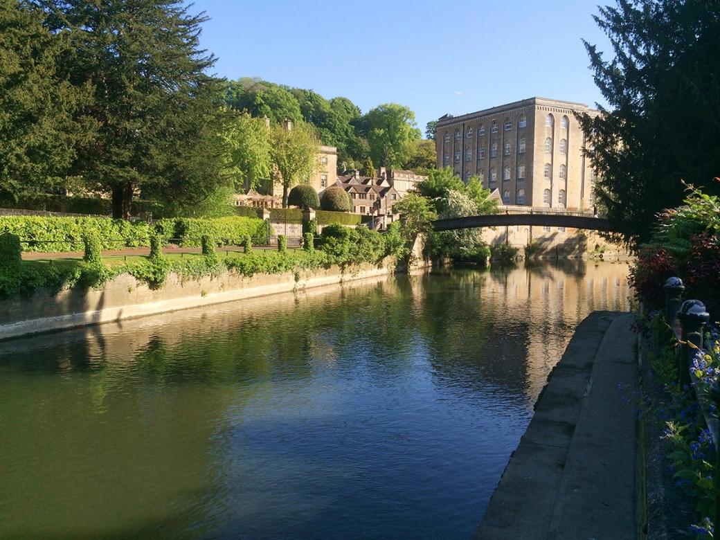river avon and abbey mill, bradford on avon