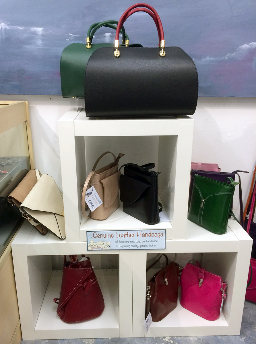 serenarts gallery leather handbags