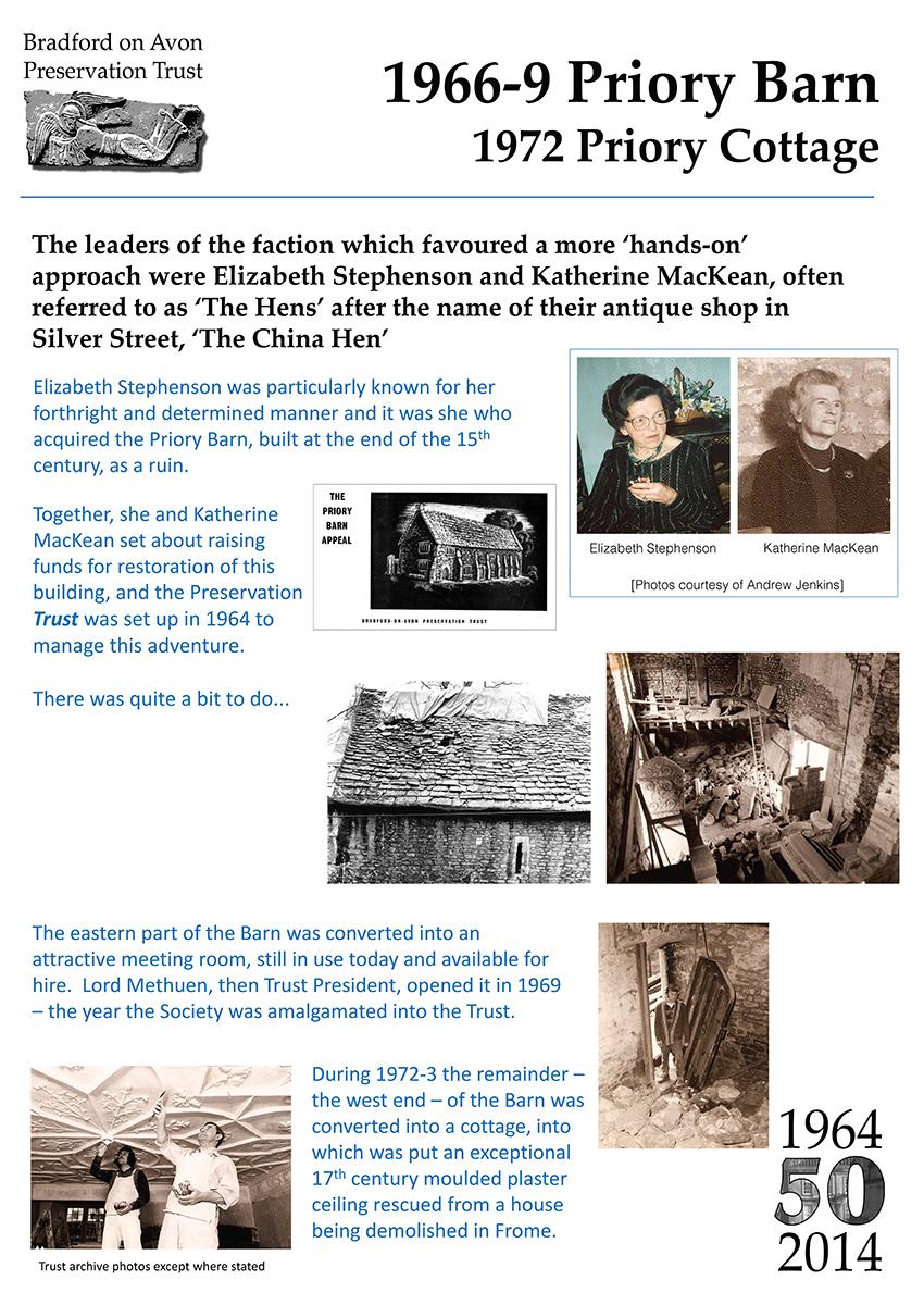 Bradford on Avon Preservation Trust Exhibition