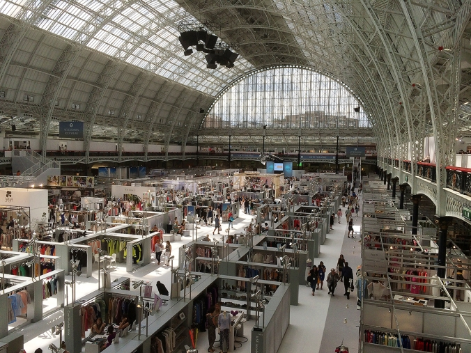 pure exhibition, olympia london 1