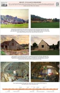 Bradford on Avon Preservation Trust exhibition with artwork by SerenArts Gallery