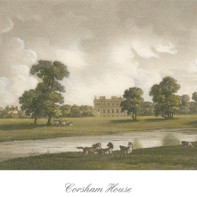 postcard front corsham house by Anthony Pates