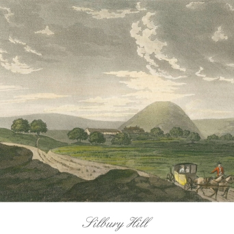 postcard front silvery hill by Anthony Pates