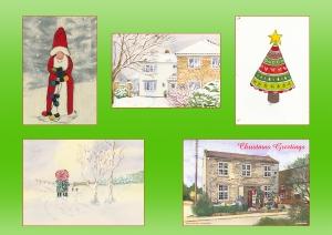 serenarts gallery christmas card printing