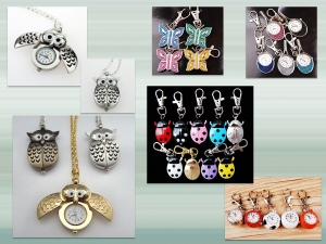 serenarts watch keyrings and necklaces