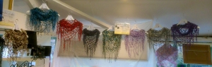 serenarts gallery crocheted scarves