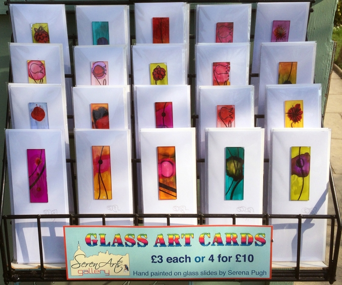 serenarts gallery glass art cards