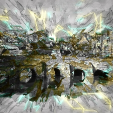 'Bradford Bridge Abstract'