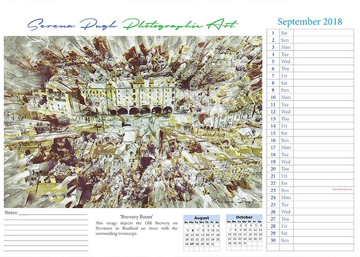 Art Gallery Calendar : Serenarts gallery calendar