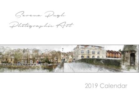 001 serenarts gallery 2019 calendar cover