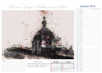 002 serenarts gallery 2019 calendar jan