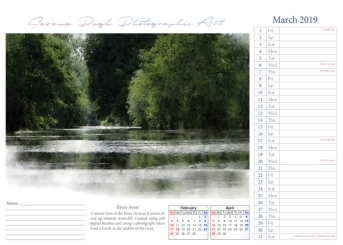 004 serenarts gallery 2019 calendar mar