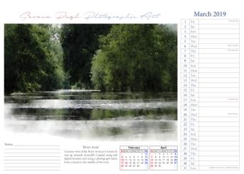 004 serenarts gallery 2019 calendar mar