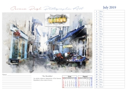 008 serenarts gallery 2019 calendar jul