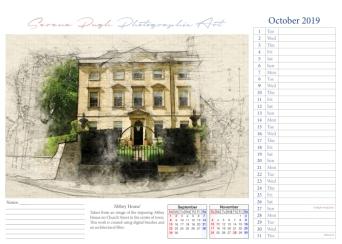 011 serenarts gallery 2019 calendar oct