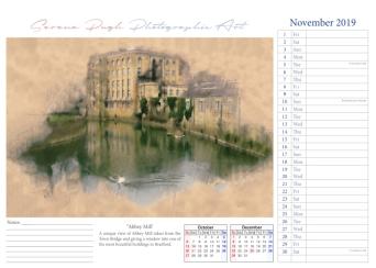 012 serenarts gallery 2019 calendar nov