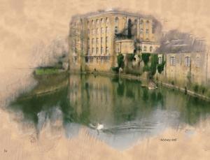 a serene view of bradford on avon by serena pugh