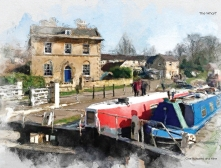 a serene view of bradford on avon by serena pugh