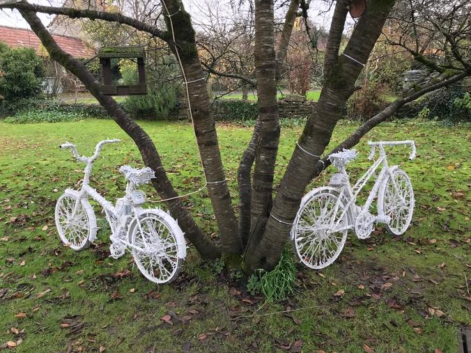 serenarts gallery festive bikes