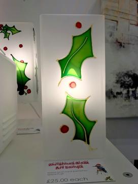 serenarts glass art lamp