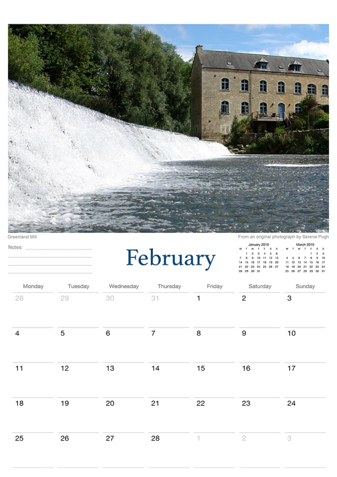 bradford on avon 2019 calendar from serenarts gallery