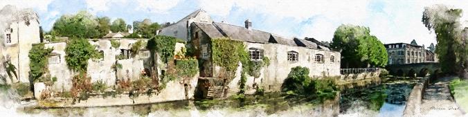 bradford on avon panorama by serena pugh