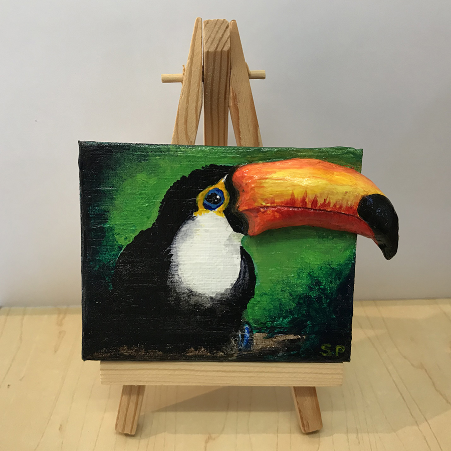 toucan by serena pugh - serenarts gallery