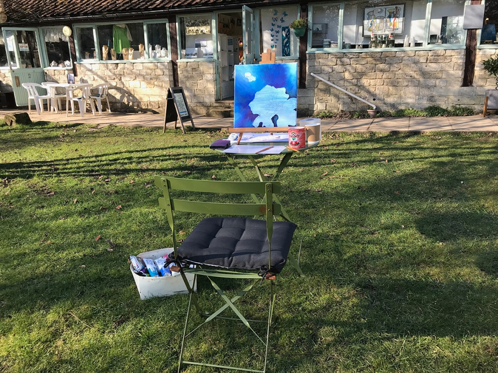 serenarts gallery painting en plein air