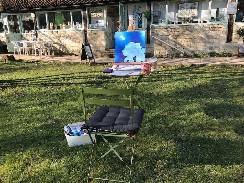 serenarts gallery painting en plein air