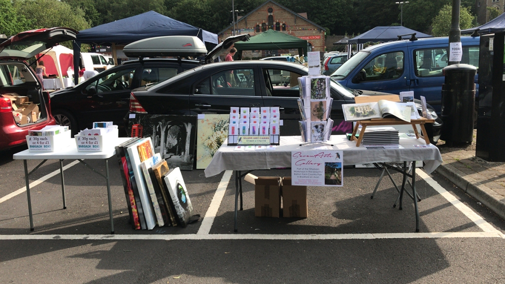 Frome Art Car Boot Sale