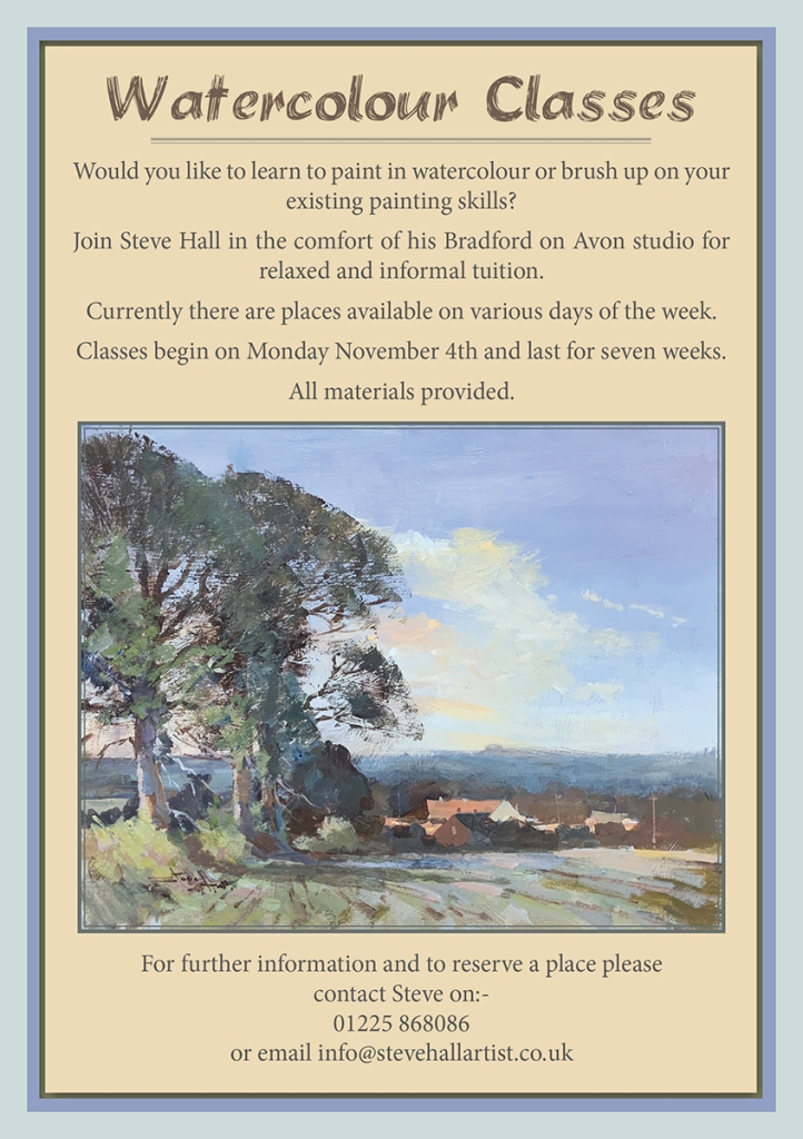 steve hall watercolour courses