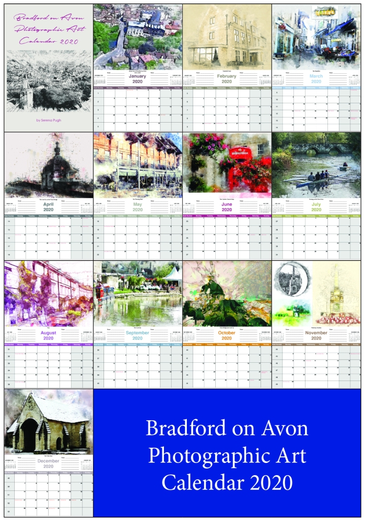 serenarts gallery bradford on avon calendar 2020