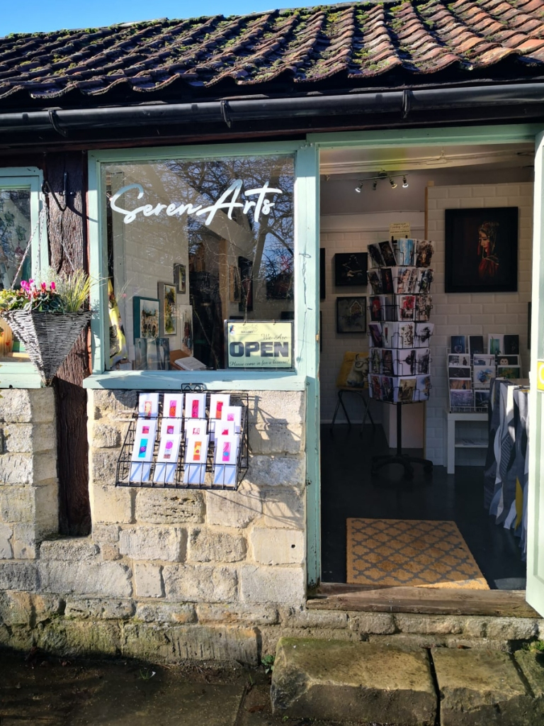 serenarts gallery at the tithebarn workshops