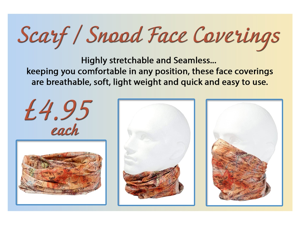 face coverings at serenarts gallery