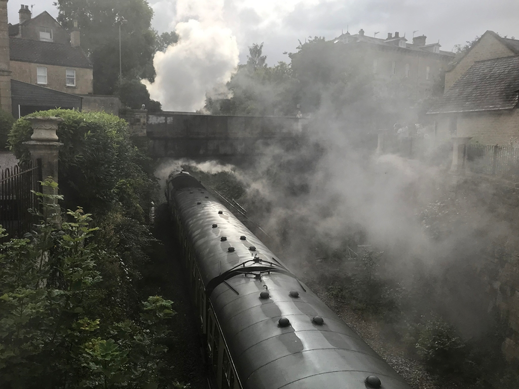 serenarts gallery - steam train trips to bradford on avon