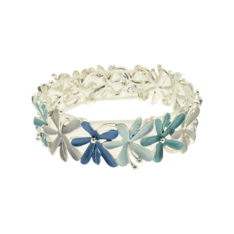 Blue Bouquet Bracelet